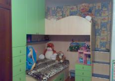 Двухъярусная кровать с шкафами - Dts Girl