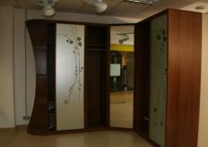 Шкаф угловой 0191