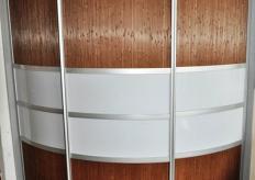 Радиусный шкаф купе ShC Rad - 0011