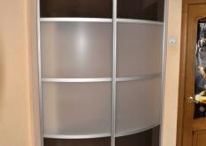 Радиусный шкаф купе ShC Rad - 0012