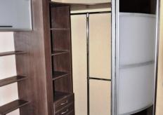 Радиусный шкаф купе ShC Rad - 0020