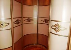 Радиусный шкаф купе ShC Rad - 0022