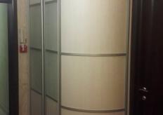 Радиусный шкаф купе ShC Rad - 0024