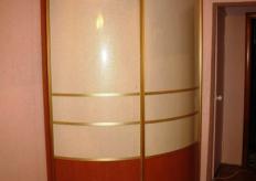 Радиусный шкаф купе ShC Rad - 0025