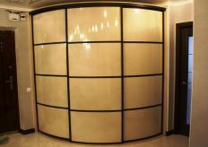 Радиусный шкаф купе ShC Rad - 0032