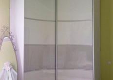 Радиусный шкаф купе ShC Rad - 0036