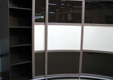 Радиусный шкаф купе ShC Rad  - 004