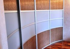 Радиусный шкаф купе ShC Rad  - 005