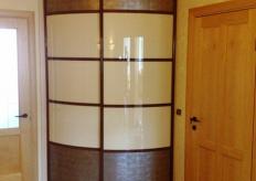 Радиусный шкаф купе ShC Rad - 006