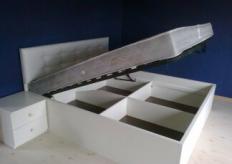 Кровать с подъемным механизмом - 010